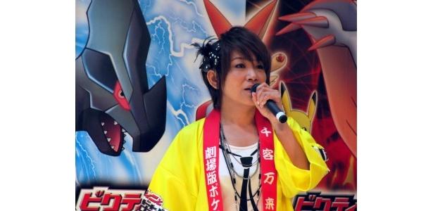 松本が主題歌を披露すると会場は大盛り上がりに!