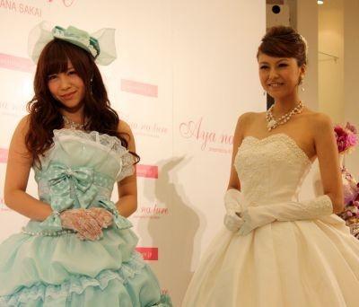 「ドレスを着るとお姫様気分になれます」と嬉しそうな河西さん