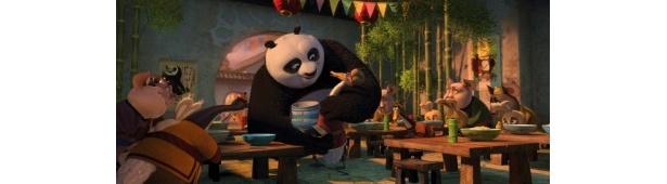 ジャイパントパンダのポーとガチョウのピンさんの親子愛に感動!