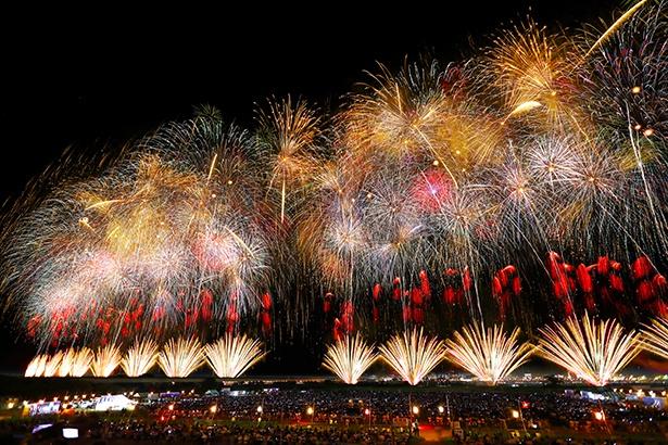 昨年の「長岡まつり大花火大会」の様子