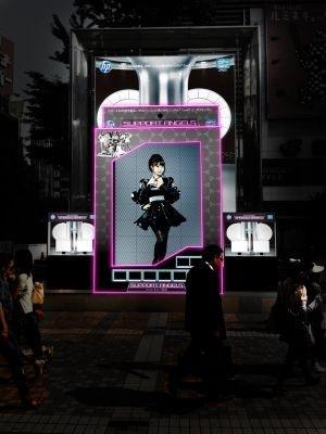【画像】ライトアップされた大島優子さんもビューティフル!