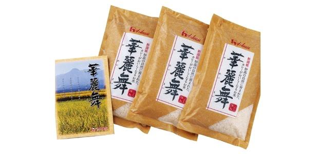 カレー用に作られた米、その名も「華麗舞」!