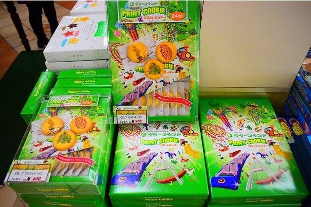 「グリーンランド プリントクッキー」小は税込600円、大は税込900円