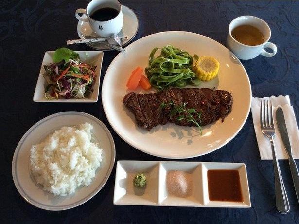 「長崎和牛ステーキセット」(200グラム 税込4550円)