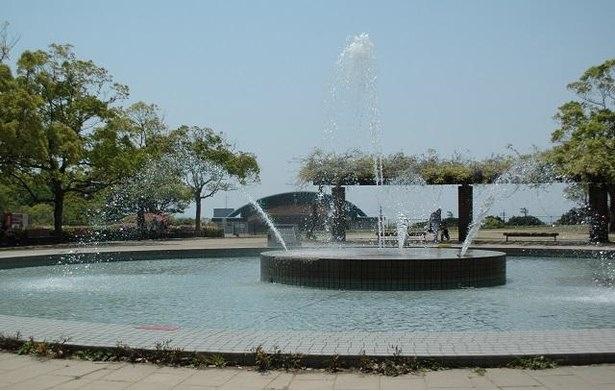 稲佐山公園の噴水
