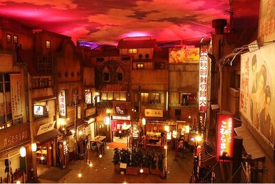 館内は古き良き昭和の時代をイメージ
