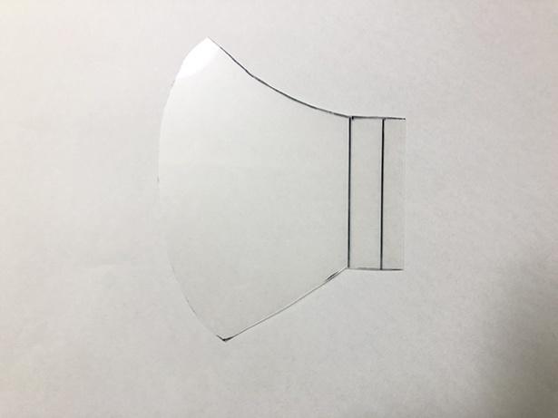 型紙スケールを用意しておけば、あとで何度も使えて便利だ