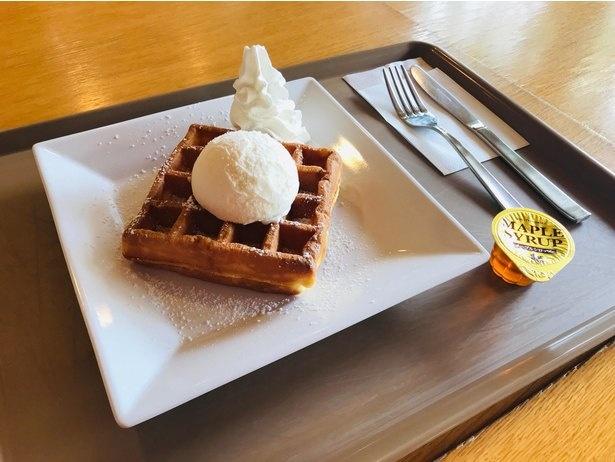 Passo Caféの「アイスクリームワッフル」(税込470円)