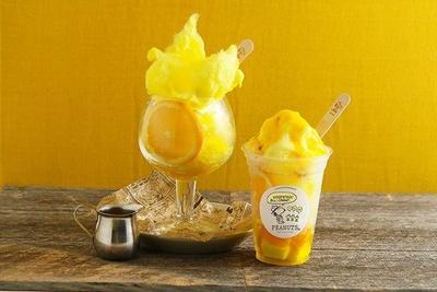 ビタミンカラーのかき氷で、夏の暑さを吹き飛ばそう