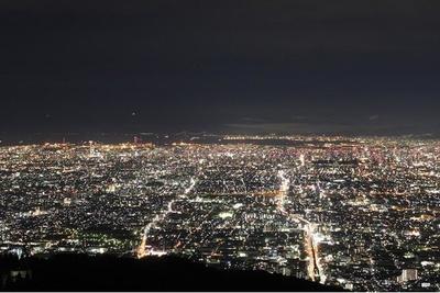 夜景を楽しむ絶好のロケーション