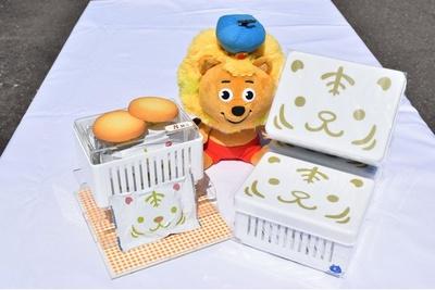 食べ終わったらランチボックスになる「ホワイトタイガーランチBOXクッキー」(税込650円)
