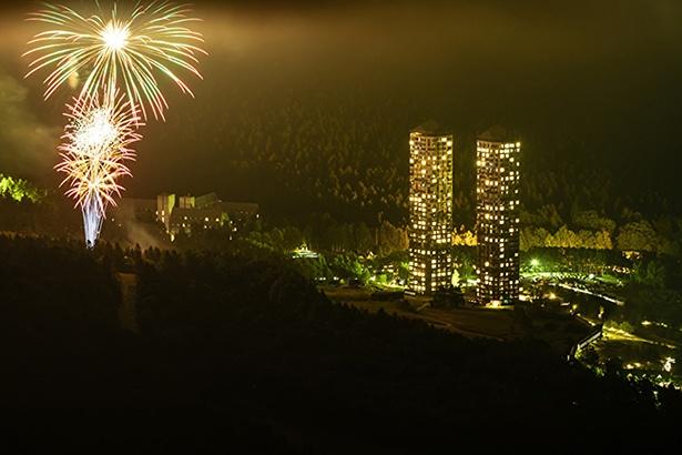 「星野リゾート トマム」にて、3カ月間毎晩、花火の打ち上げを実施!