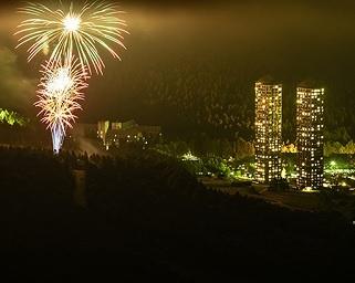 「星野リゾート トマム」で「元気を願う花火」を3カ月間毎晩打ち上げ!大自然を感じながら花火鑑賞