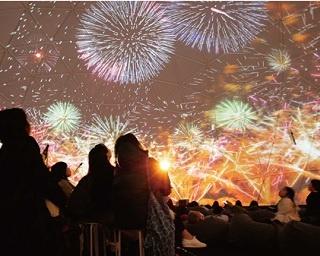 花火を真下から写した貴重映像を投影!今夏は全国のプラネタリウムで新感覚の花火体験