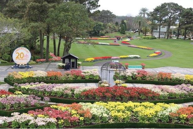 美しく整備されたフローランテ宮崎の園内
