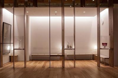 グラス・アート・パサージュでは約50点の作品を見ることができる