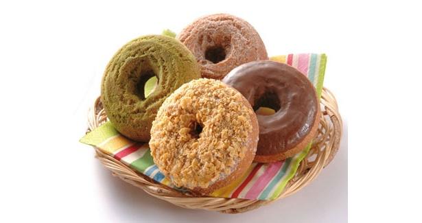 「小樽のドーナツ屋さん」の「ドーナツ」(各120円〜)
