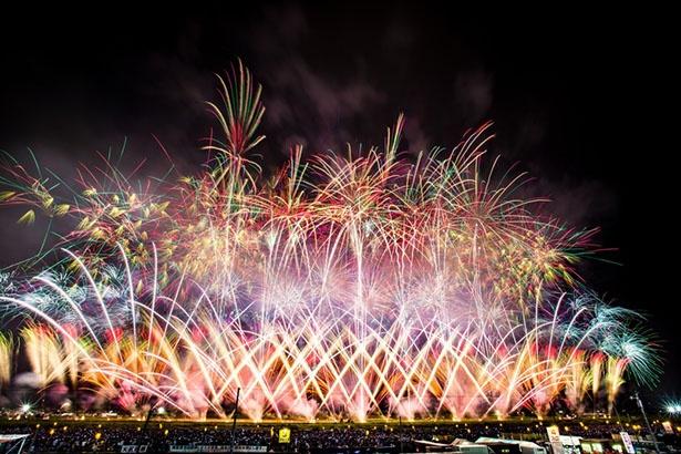 """全国の花火師が技を競い合う、「全国花火競技大会」、通称""""大曲の花火"""""""