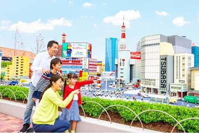 レゴ(R)ブロックで再現された緻密な街並みは必見