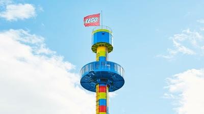 【写真】園内を一望できる「オブザベーション・タワー」