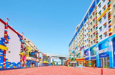 外観から内観までレゴ(R)ブロックでいっぱいなホテル「レゴランド®・ジャパン・ホテル」