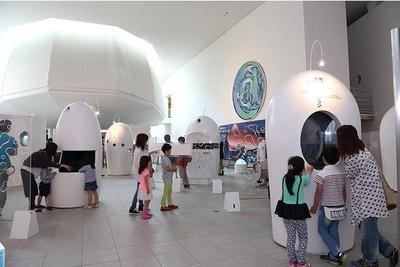 1階の展示ホールでは、富山湾の不思議について紹介