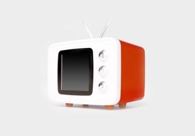 【画像】レトロポップなブラウン管テレビがモチーフ! 存在感抜群の「SNAP TV JR.」