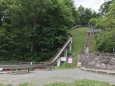 人気の「ジャンボ滑り台」(※新型コロナウイルス感染拡大防止のため7月現在使用中止)