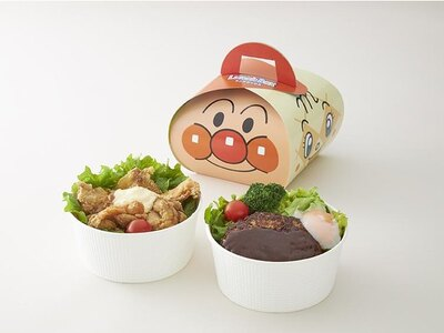 かわいいボックスに入った「ロコモコ丼」(写真右・税込980円)と「チキンタツタ丼」(同左・税込880円)