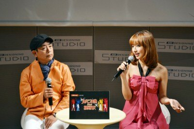 栗田貫一と優木まおみによるトークイベントも開催