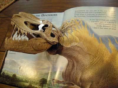 ド迫力!恐竜が飛び出す仕掛け絵本は、男性に人気