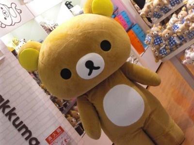 ■リラックマストア(北海道初出店:キャラクター雑貨、イーストB1)