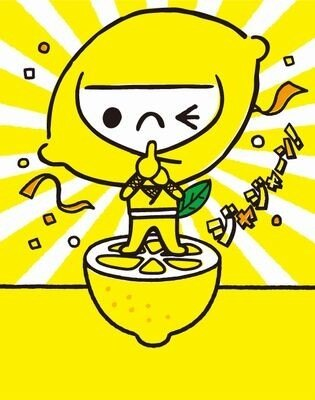 """「レモンじゃ」はポッカレモン100の新イメージキャラとして、食材を引き立てる""""名脇役""""レモンの魅力をわかりやすく教えてくれる"""