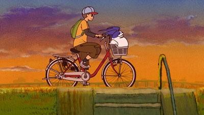 意外にも自転車のかごに入るサイズ