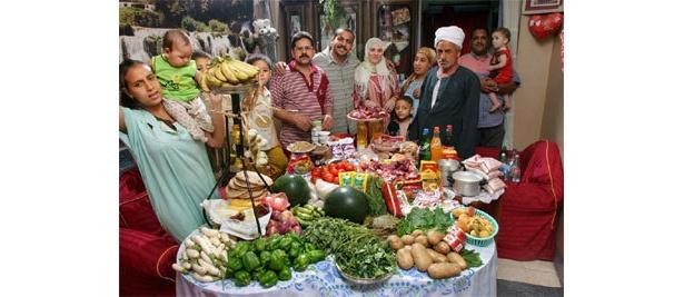 エジプト/アフマドさん一家