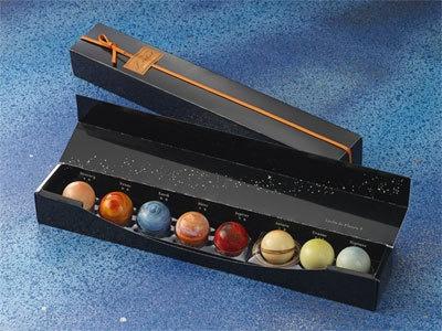 太陽系8惑星のショコラが全てそろった「惑星8個セット」