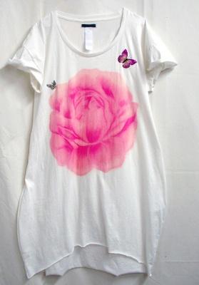 限定のrose  lame  cut&sown one-peace  (10290円)