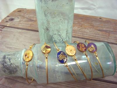 限定のPressed flower bracelet (5040円)