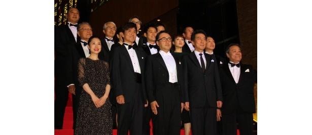 三谷幸喜生誕50周年記念大感謝映画祭で豪華なレッドカーペットが開催