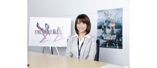 「ファイナルファンタジー」シリーズの大ファンの大島優子さんが最新作のテレビCMに!