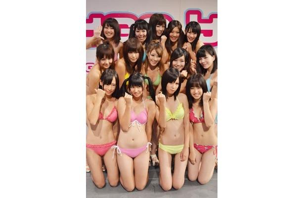 14人体制になったことで、ますます勢いに乗るグラビアアイドルユニットYGA