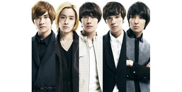 韓国出身の5人組バンド・FTISLANDが出演決定!