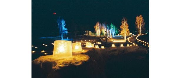 下川町はアイスキャンドル発祥の地で有名