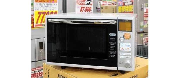 便利な解凍機能つき。SHARPオーブンレンジ2万5000円→1万円(ジョーシンアウトレット三鷹店)