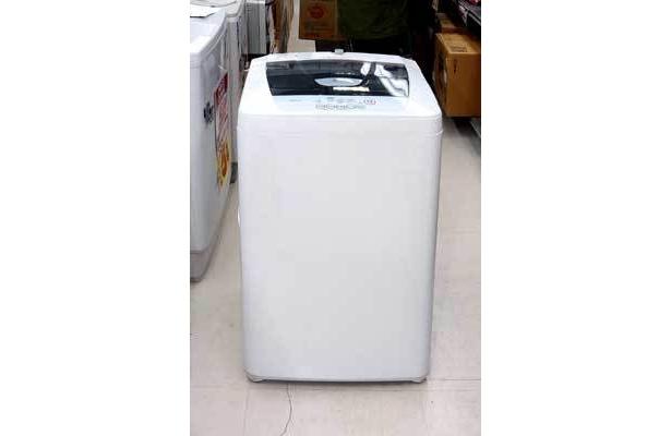 空気で70%の乾燥が可能LG電子4.8�全自動洗濯機1万7500円→9000円(ジョーシンアウトレット三鷹店)