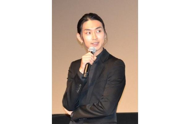 「強烈なインパクトを与えられる作品を目指した」と語る松田翔太