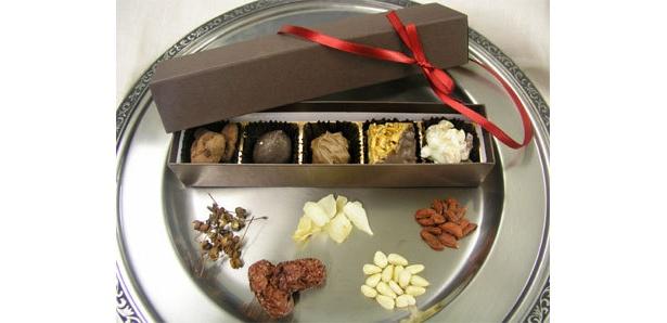 東洋素材を使った「漢方ブティック」のチョコレート発売