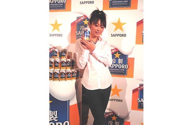 2009年サッポロビールイメージガールの美優紀ちゃんも大プッシュ!