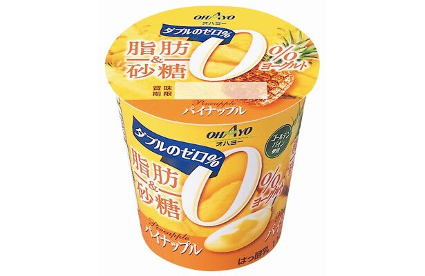 濃厚な甘味と甘い香りが特長のゴールデンパインの果肉果汁を使用
