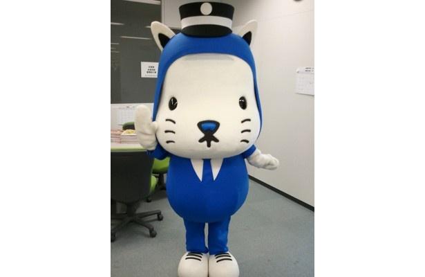 大阪市営交通の新キャラクター「にゃんばろう」